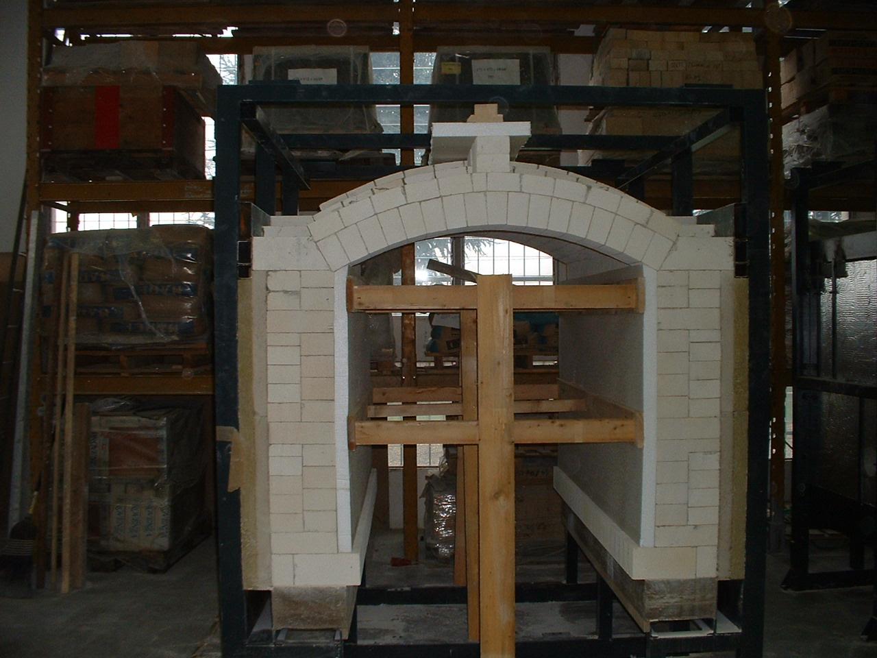 costruzione moduli forno ceramica